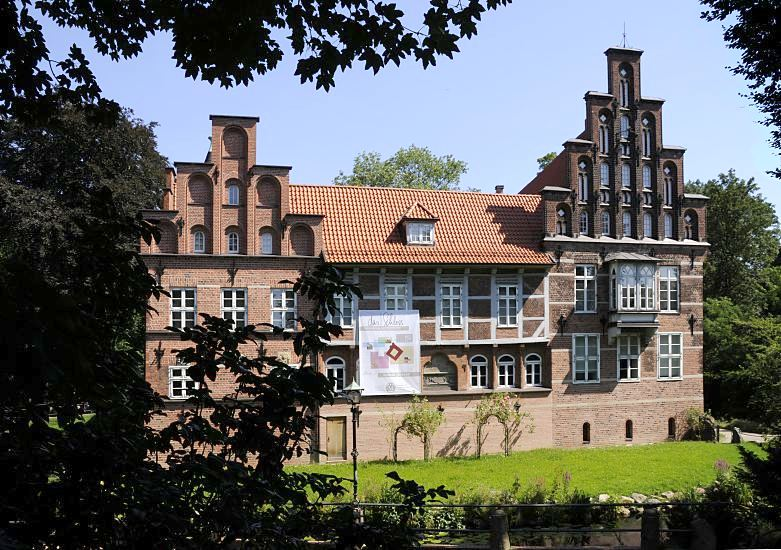 fotografie von hamburg bilder vom bergedorfer wasserschloss fotografien aus dem bezirk. Black Bedroom Furniture Sets. Home Design Ideas