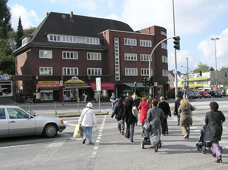 Stadtteil Hamburg Lokstedt Bezirk Hamburg Eimsbuettel